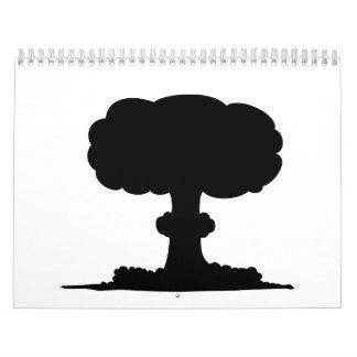 Explosión nuclear calendario