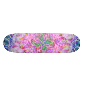 Explosion of Bubbles Skateboard Deck