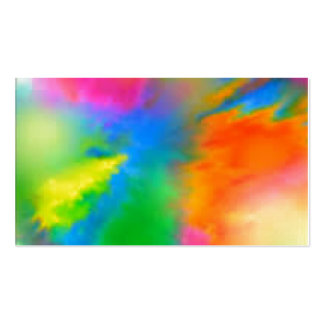 Explosion of Color Double-Sided Standard Business Cards (Pack Of 100)
