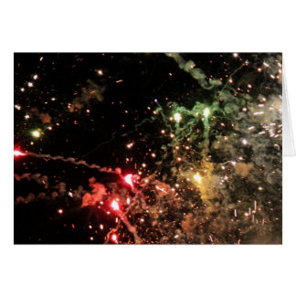 Explosion of Color Notecard - horizontal Stationery Note Card
