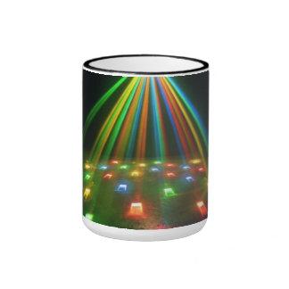 Explosion of light - ringer mug