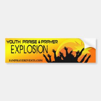¡Explosión! Pegatina Para Auto