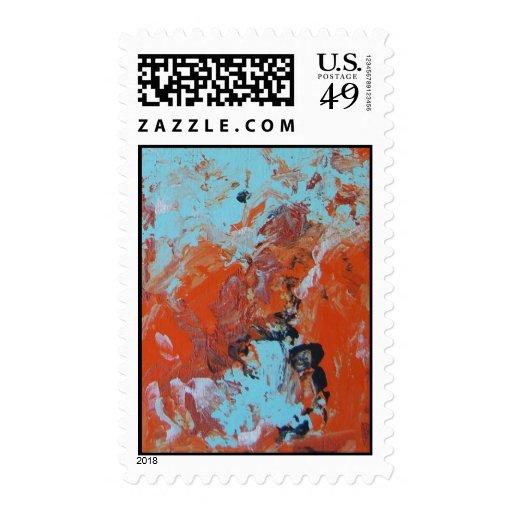 Explosion Postage