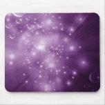 Explosión púrpura de la galaxia tapetes de ratones