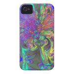 Explosión que brilla intensamente del color - carcasa para iPhone 4 de Case-Mate