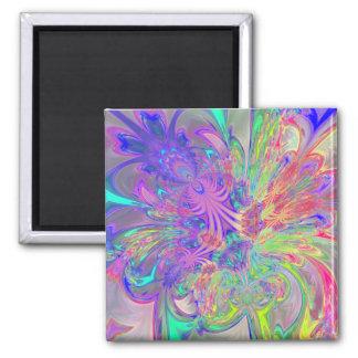 Explosión que brilla intensamente del color imán para frigorifico
