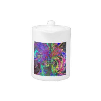 Explosión que brilla intensamente del color - trul
