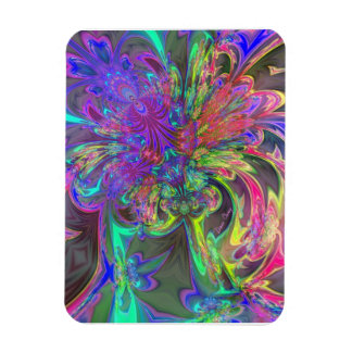Explosión que brilla intensamente del color - trul imán
