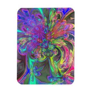 Explosión que brilla intensamente del color - trul iman flexible