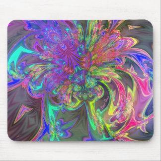 Explosión que brilla intensamente del color - trul tapete de ratones