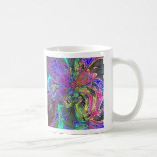 Explosión que brilla intensamente del color - trul taza
