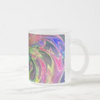 Explosión que brilla intensamente del color - trul tazas de café