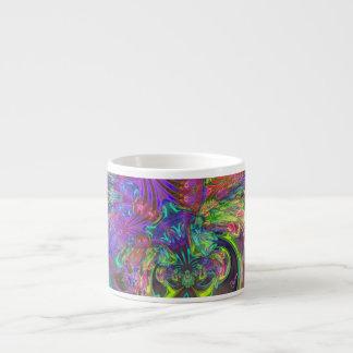 Explosión que brilla intensamente del color - trul tazas espresso