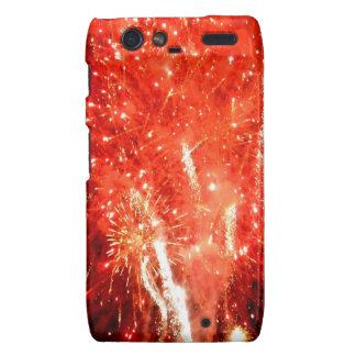 Explosion Red Droid RAZR Cover