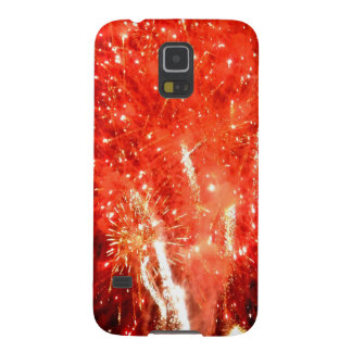 Explosion Red Galaxy S5 Case