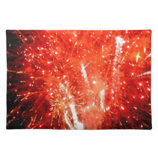 Explosion Red Placemat