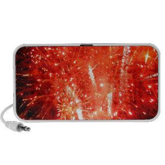 Explosion Red Portable Speaker