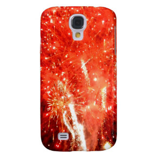 Explosion Red Samsung S4 Case