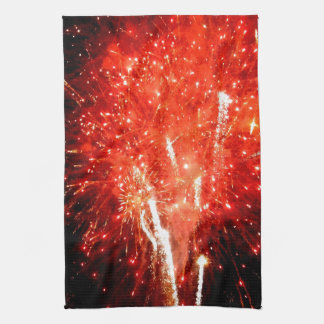 Explosion Red Towel