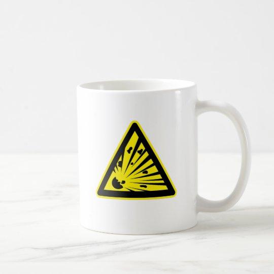 Explosion Risk Coffee Mug