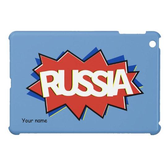 Explosión rusa de la estrella de la bandera