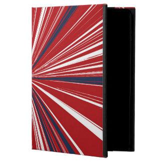 explosión tridimensional en colores patrióticos