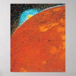 Explosión volcánica en el Io Poster