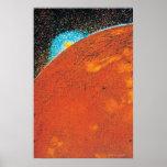 Explosión volcánica en el Io Póster
