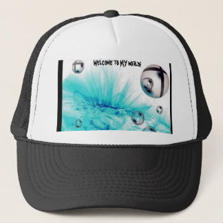 explosion, Welcome to MY world! Trucker Hat