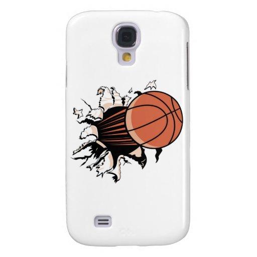 Explosión y regalos del baloncesto funda para galaxy s4