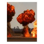 Explosiones del fuego postales