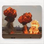 Explosiones del fuego tapete de ratones