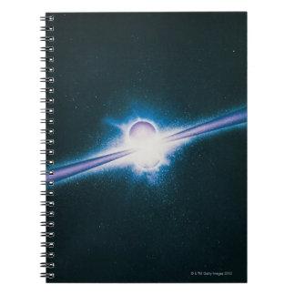 Explosiones del rayo gamma libro de apuntes