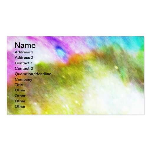 Explosions In The Sky Double-Sided Standard Business Cards (Pack Of 100)