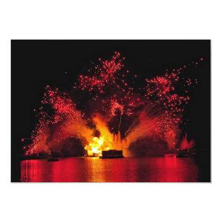 Explosive Celebration 5x7 Paper Invitation Card