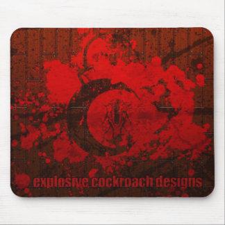 Explosive Cockroach Designs Mousepad