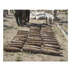 Explosive devices are identified and inventorie photo print