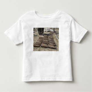 Explosive devices are identified and inventorie toddler t-shirt