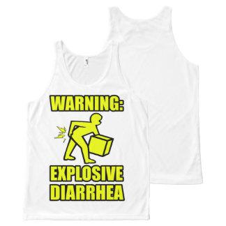 Explosive Diarrhea All-Over-Print Tank Top