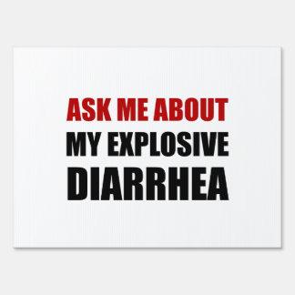 Explosive Diarrhea Signs