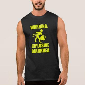 Explosive Diarrhea Sleeveless Shirt