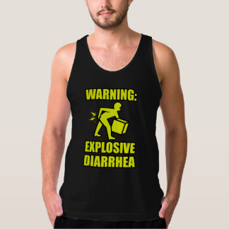 Explosive Diarrhea Tank Top