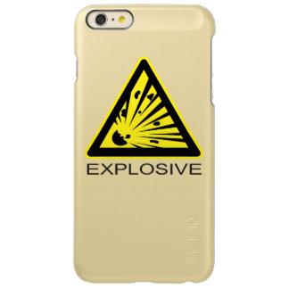 Explosive Hazard Sign Incipio Feather® Shine iPhone 6 Plus Case