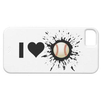 Explosive I Love Baseball iPhone 5 Case