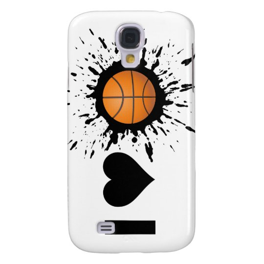 Explosive I Love Basketball Galaxy S4 Case