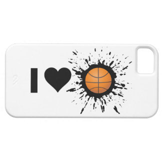 Explosive I Love Basketball iPhone 5 Case