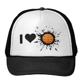 Explosive I Love Basketball Trucker Hat