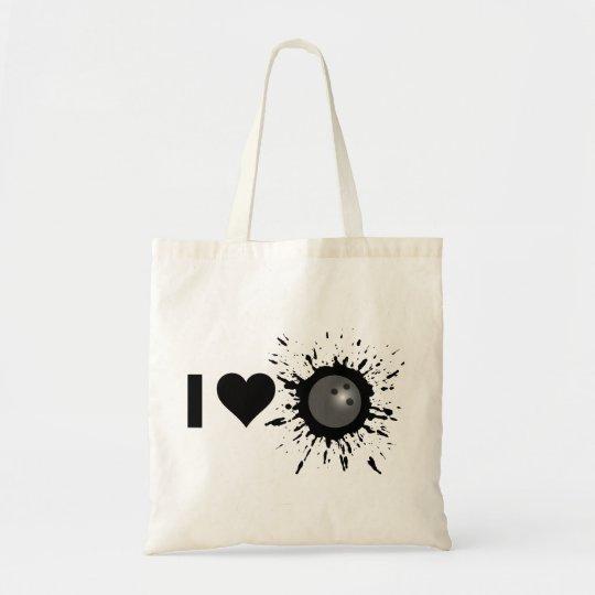 Explosive I Love Bowling 1 Tote Bag