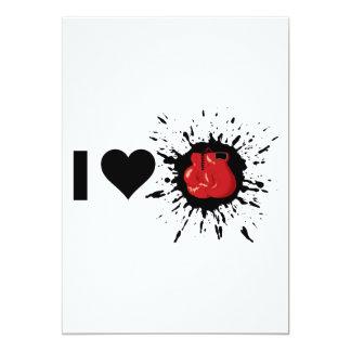 Explosive I Love Boxing Card