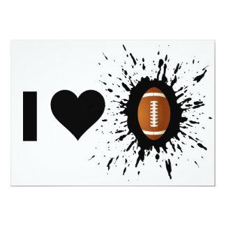 Explosive I Love Football Card